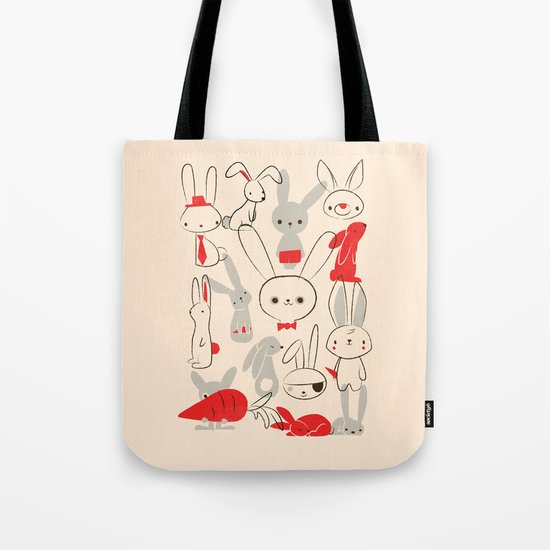 Bunnies Tote Bag