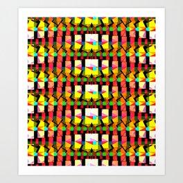 Polyverberations deux, 2260g Art Print