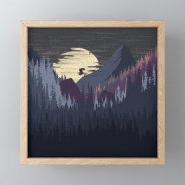 Canyon Framed Mini Art Print