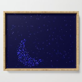 Starry Moon Serving Tray