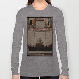 Vintage poster - Rotterdam - London Long Sleeve T-shirt