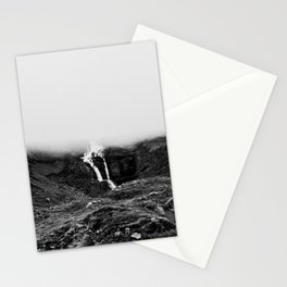 Misty waterfall Stationery Cards