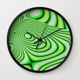 Oozing Green Irish Wall Clock
