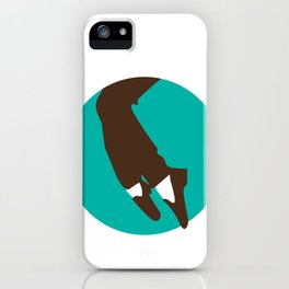 Who's Bad? iPhone Case