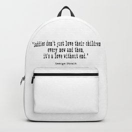 It's a Love without end Backpack