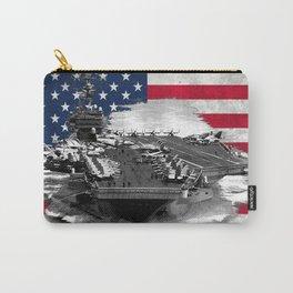 Nimitz Class Aircraft Carrier Carry-All Pouch