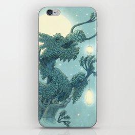 The Night Gardener - The Dragon Tree, Night iPhone Skin