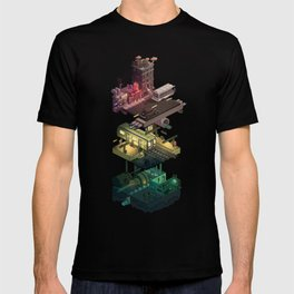 Isometric Coelary - 1 T-shirt