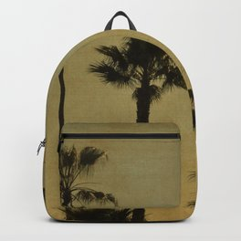 PALM TREES - TEXTURAL CALIFORNIA SUNSET Backpack