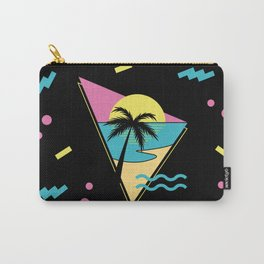 Memphis pattern 42 - 80s / 90s Retro / palm tree / summer Carry-All Pouch