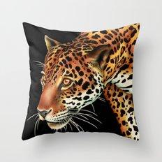 Jaguar 3 Throw Pillow