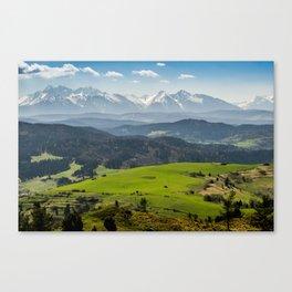Tatry Poland Landscape Canvas Print