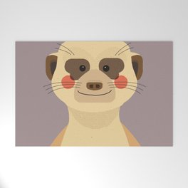 Meerkat, Animal Portrait Welcome Mat
