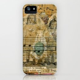 Secret Keepers of the Land iPhone Case