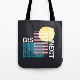 Disconnect Tote Bag
