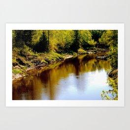 Torch River Art Print