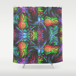 fanapple pinetasia Shower Curtain