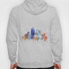 Kansas Watercolor Skyline Hoody