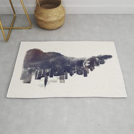 Fox from the City Rug