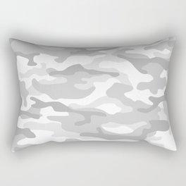 Snow Camo Rectangular Pillow
