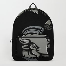 Metallic Sports Icons Collection Set Backpack