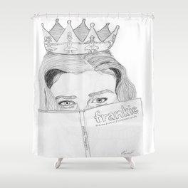 Magazine Queen  Shower Curtain