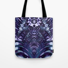 The Divinity of Blue Tote Bag