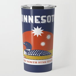 Minnesota - Redesigning The States Series Travel Mug