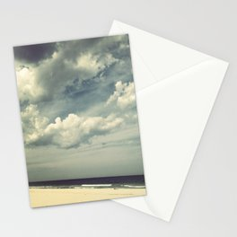 beach clouds Stationery Cards