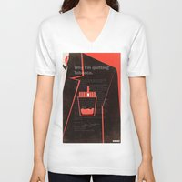 mad men V-neck T-shirts featuring Mad Men Poster Print by Take Heed