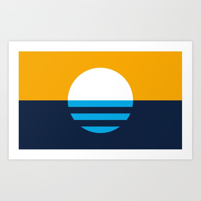 The People's Flag of Milwaukee Art Print