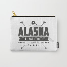 Alaska State Badge Carry-All Pouch
