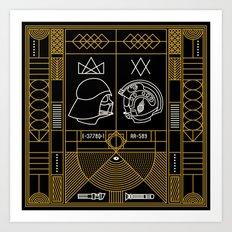 Galactic Balance  Art Print