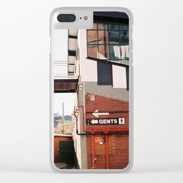 Gents Clear iPhone Case