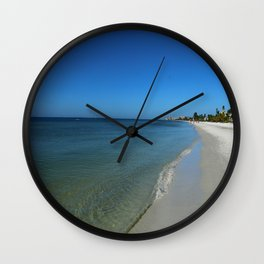 Fort Myers Beach November 2017 Wall Clock