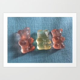 3 Little Bears Art Print
