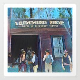 Time Travellers 1 Art Print