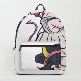 Halloween Pin Up Girl Backpack