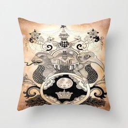 Materia VII Throw Pillow