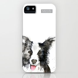 Inky Dog iPhone Case