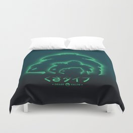 Mega Grass Duvet Cover