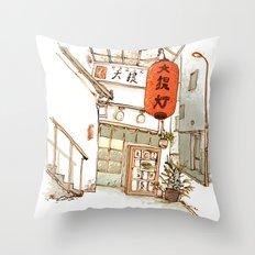 Tokyo Izakaya Throw Pillow