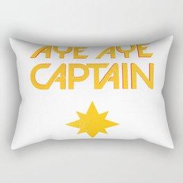 O captain! My captain! - Carol Danvers Rectangular Pillow