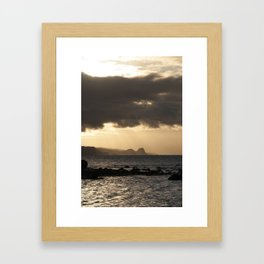 Maui Sunset Framed Art Print