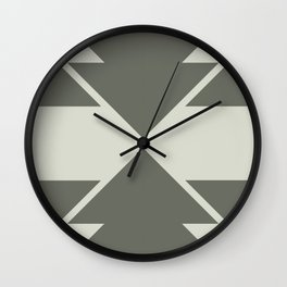 Sage Arrow Wall Clock