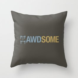 AWDSOME v7 HQvector Throw Pillow