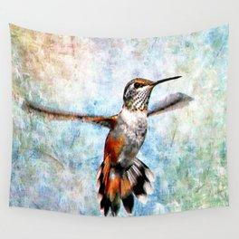 Rufus Hummingbird Wall Tapestry