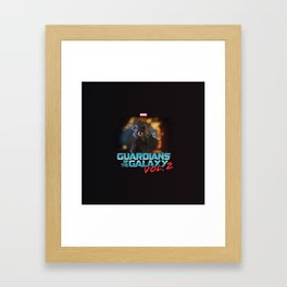 Guardians Of The Galaxy 2 Framed Art Print