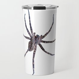 Watercolor Spider Wolf Snow, Itsy Bitsy Spider Travel Mug