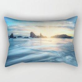 Give Praise Bandon Oregon Rectangular Pillow